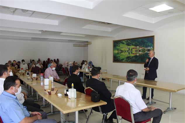 Gaziantep'de Müftülüğümüzde Veda Programı Yapıldı