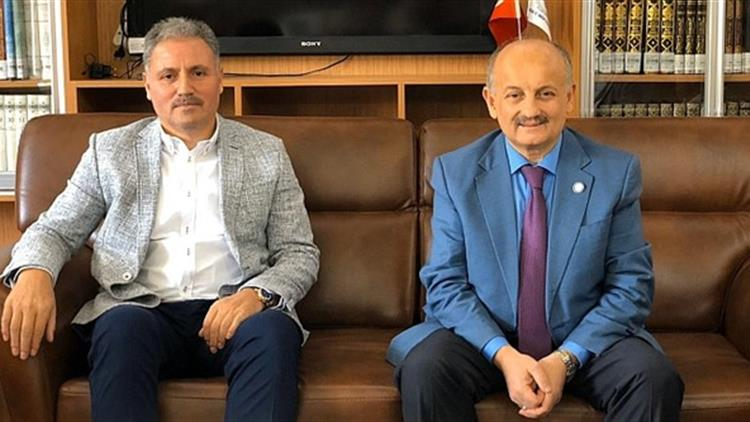 Malatya'da Milletvekili Ahmet çakır Il Müftümüzü Ziyaret Etti