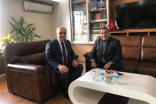 Malatya'da Milletvekili Fendoğlu Il Müftümüzü Ziyaret Etti