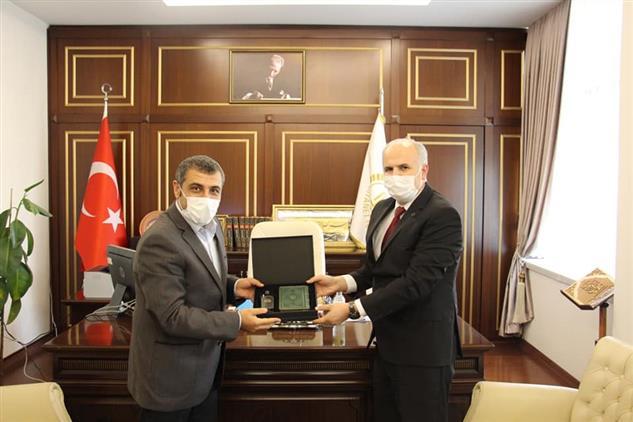 Gaziantep'de Milletvekili Müftülüğümüzü Ziyaret Etti