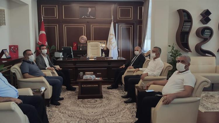 Gaziantep'de Milletvekili Yüksel'den Il Müftülüğümüze Ziyaret