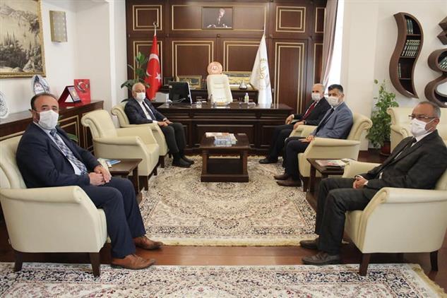 Gaziantep'de Milletvekilinden Müftülüğümüze Ziyaret