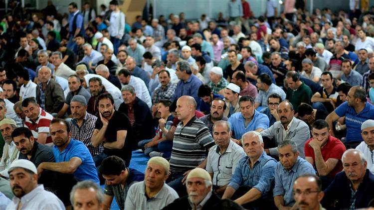 Erzincan'da Mîrâc Gecesi Münasebetiyle Camiler Doldu Taştı