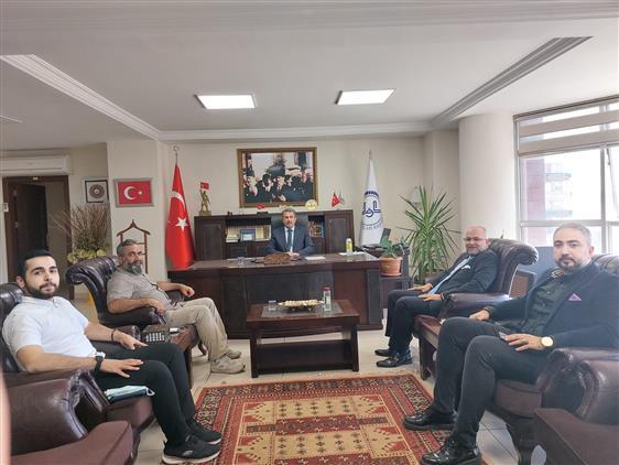Müsiad Kahramanmaraş şubesi Il Müftümüz Mustafa Tekin'i Ziyaret Etti