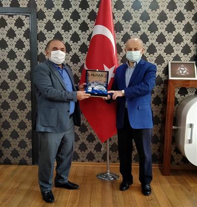Malatya'da Müsiad şube Başkanı Ve Yönetim Kurulu üyeleri Il Müftümüzü Ziyaret Etti