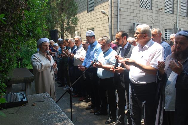 Hatay'da Muhammed Mursi Için Gıyabi Cenaze Namazı Kılındı
