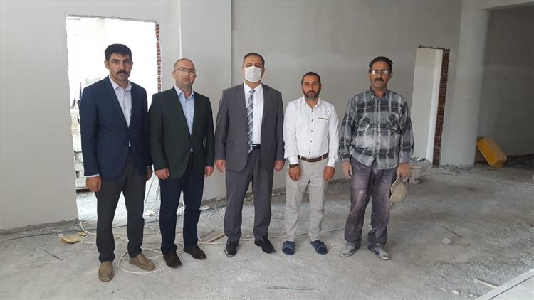 Muhammed Nayir Erzincani Camii 4-6 Yaş Grubu Inşaatında Inceleme