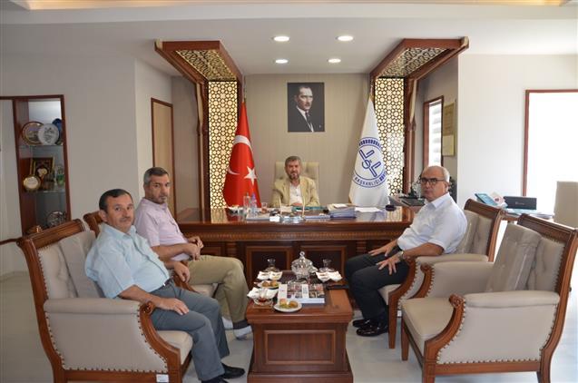 Antalya'da Muratpaşa Kaymakamından Il Müftümüze Ziyaret
