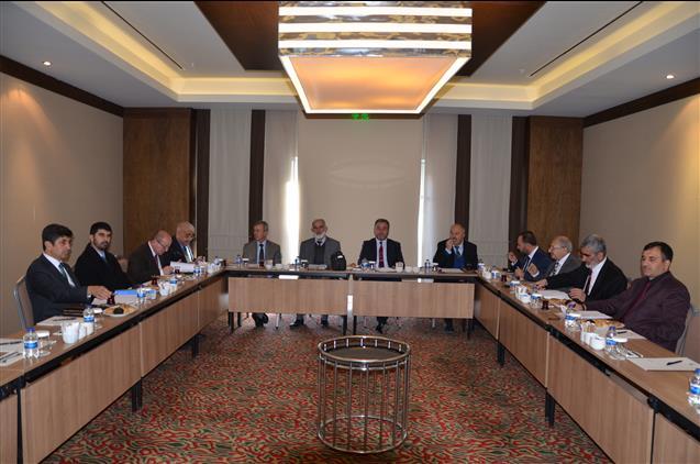 Nevşehir Ilçe Müftüleri Toplantısı Avanos Ilçesinde Yapıldı