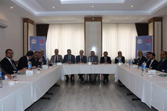 Antalya'da Nisan Ayı Ilçe Müftüleri Toplantısı Muratpaşa Ilçemizde Yapıldı