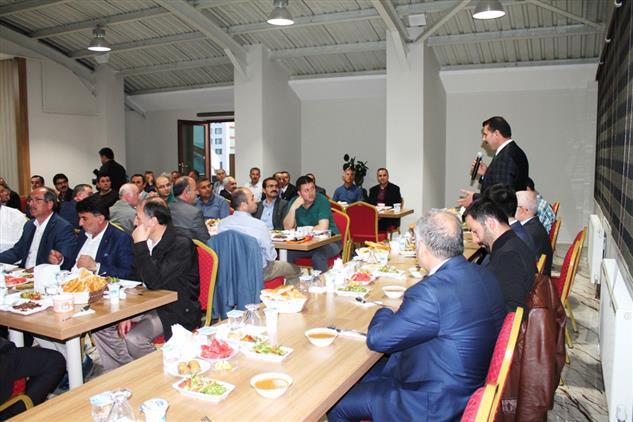Sivas'ta Okul Müdürleri, Il Müftülüğü'nün Iftar Yemeğinde Bir Araya Geldi