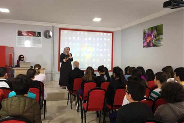 Giresun'da Okullarda Engelli Farkındalığı Eğitimi