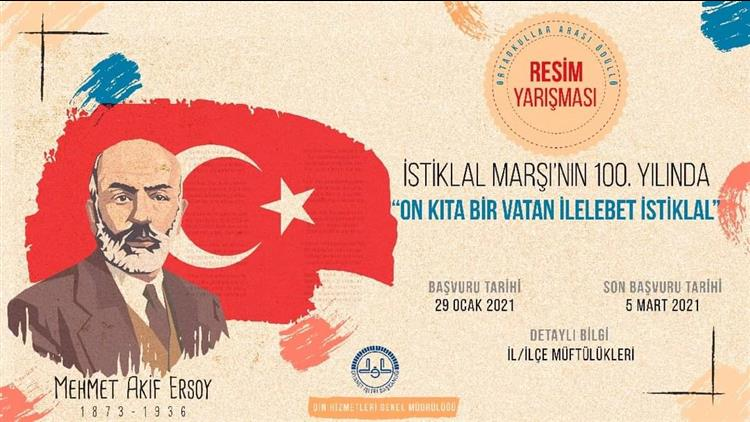 """Tunceli'de """"on Kıta Bir Vatan Ilelebet Istiklal"""" Temalı Kompozisyon Ve Resim Yarışması!"""