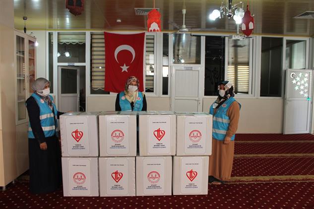 """Osmaniye Il Müftülüğü Gençlik Koordinatörlüğü """"ilmek Ilmek Iyilik Projesi"""" Başlattı"""