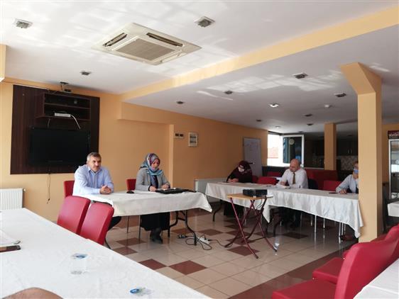 Duzce'de Pandemi Sürecinde Aile Eğitimleri Konulu Proje Toplantısı Düzenlendi