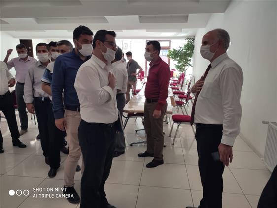 Gaziantep'de Personelimiz Arasında Bayramlaşma