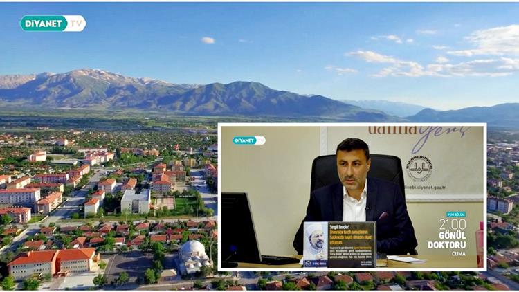 Erzincan'da Personelimiz Murat çınar, 'gönül Doktoru' Programıyla Diyanet Tv Ekranlarındaydı