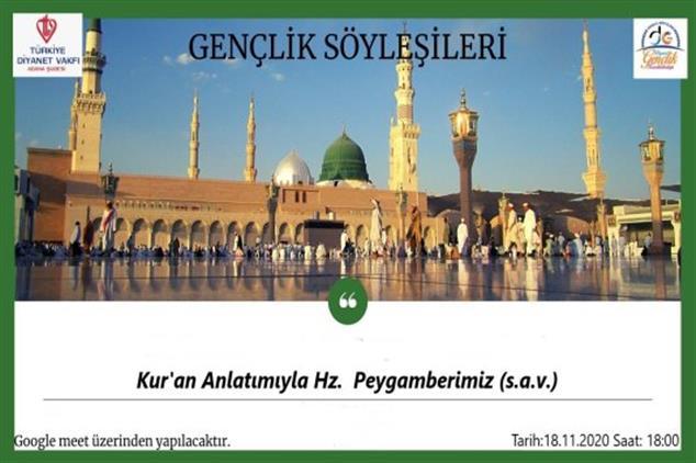 Adana'da Peygamber Efendimizin (sav) Hayatı Ile Ilgili Gençlerle Söyleşi