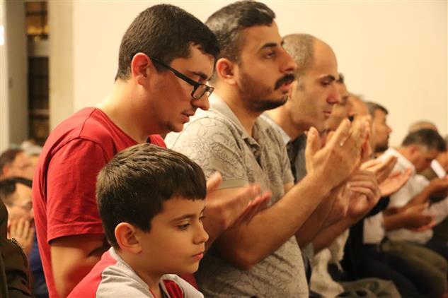 Antalya'da Peygamber Sevdalıları Mevlid Kandilinde Buluştular