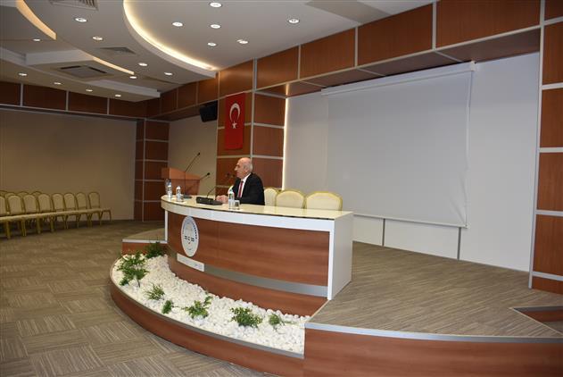 Manisa Eğitim MerkeziProf. Dr. Abdülgaffar Aslan Sözleşmeli Din Görevlisi Kursiyerlerimize Konferans Verdi
