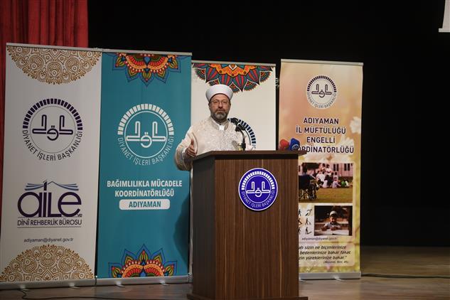 Prof. Dr. Ali Erbaş Mevlid-i Nebi Kutlama Programı Için Adıyaman'daydı