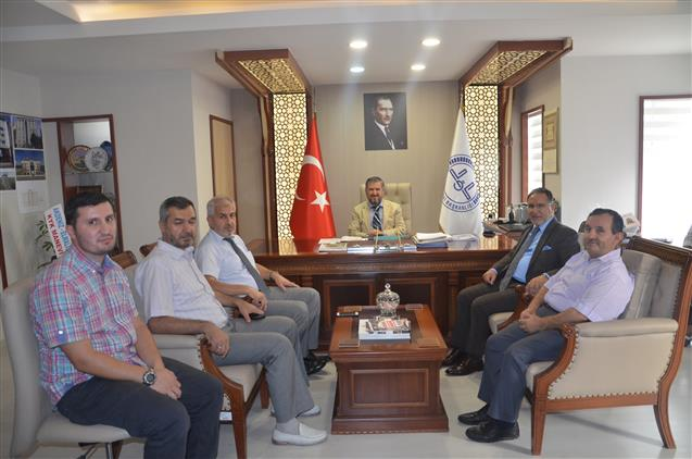 Antalya'da Prof. Dr. Mustafa Karataş'tan Il Müftülüğümüze Ziyaret