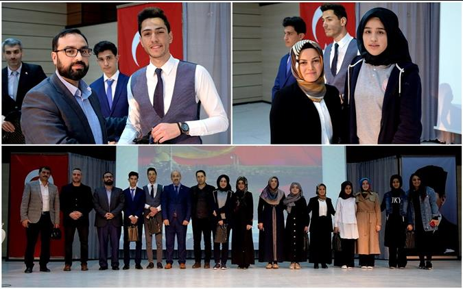 """Erzincan'da """"çanakkale şehitlerine"""" şiir Yarışması Finali Yapıldı"""