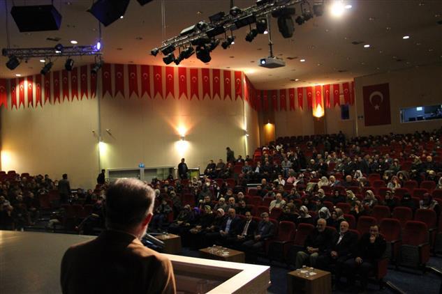 "Erzurum'da ""peygamberimiz Ve Aile"" Konulu Konferans"