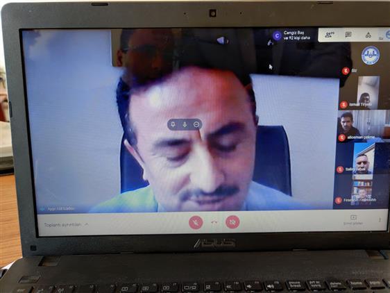 """Sinop'ta """"ramazan Ayı Ve Mali Ibadetlerimiz"""" Konulu Toplantı çevrimiçi Olarak Gerçekleştirildi"""