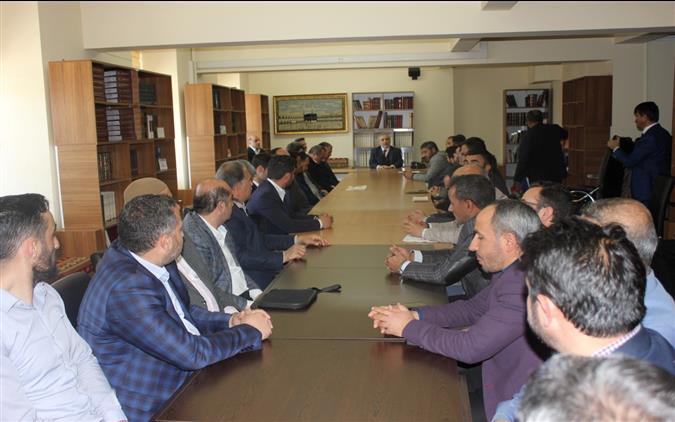 Erzincan'da Ramazan Faaliyetleri Istişare Toplantısı Yapıldı