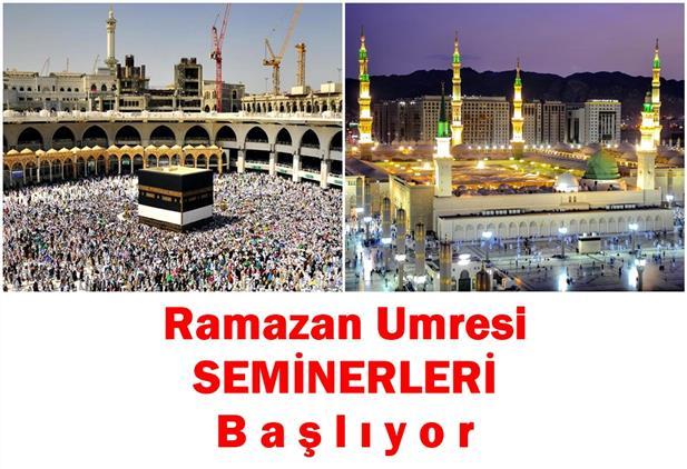 Erzincan'da Ramazan Umresi Seminerleri Başlıyor...