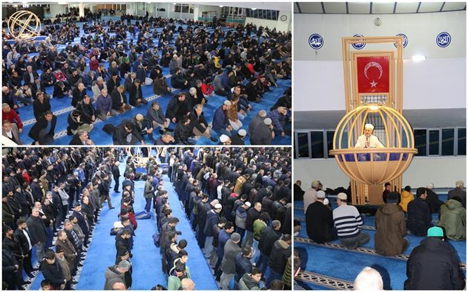 Erzincan'da Regâip Kandili Coşkuyla Eda Edildi…