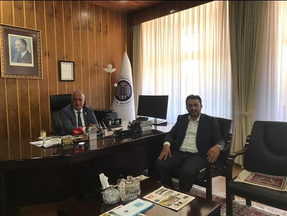 Erzurum'da Rektörlere Ziyaret