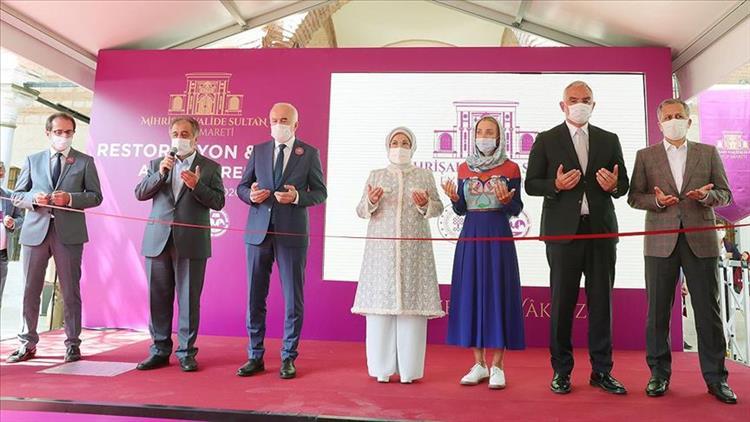 İstanbul'da Restorasyonu Tamamlanan Eyüpsultan Mihrişah Valide Sultan Imareti Dualarla Açıldı