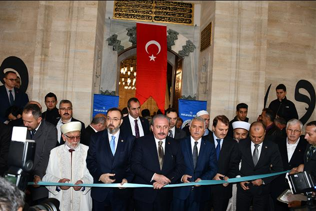 Tekirdağ'da Restorasyonu Tamamlanan Rüstempaşa Camii Ibadete Açıldı.