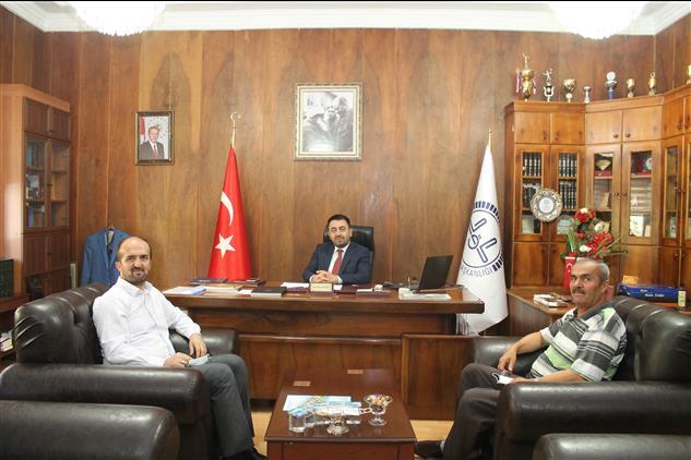 Amasya'da öğretim üyesi Dr. Cemil Liv'den Il Müftümüze Hayırlı Olsun Ziyareti