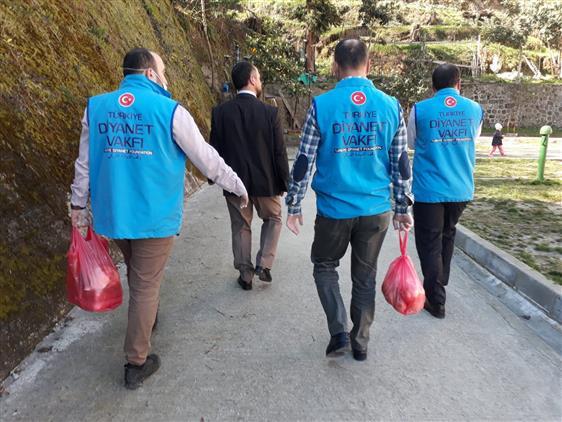 Rize'de 'vefa Sosyal Destek Grubu' çalışmalara Hızlı Başladı