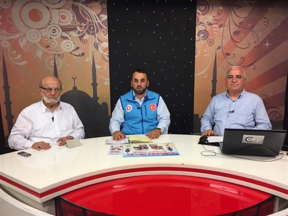 Rize'de Ilk Kurban Bağışı Necati Hoca'dan