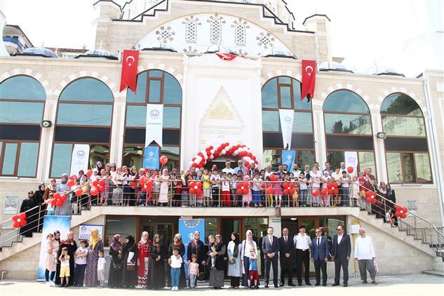 Rize'de Yaz Kur'an Kursları Açılışı Gerçekleştirildi