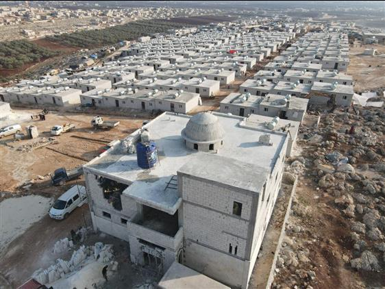 Rize'den Idlib'e 17 Adet Iyilik Konutu