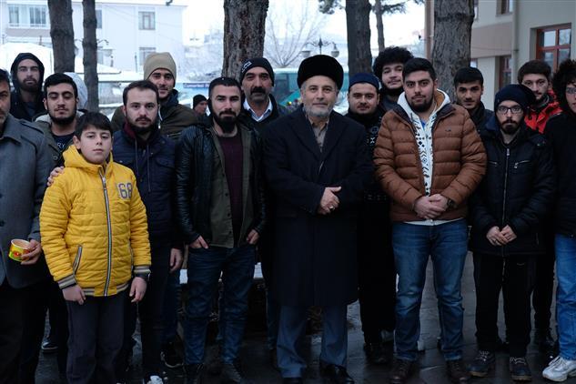 Erzincan'da Sabah Namazı Ve Gençlik Buluşmaları Devam Ediyor