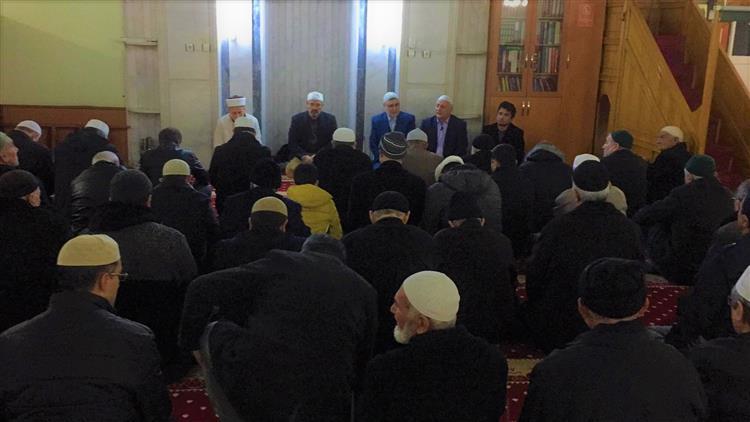 Osmaniye'de Sabah Namazı Buluşması - şeyhler Cami