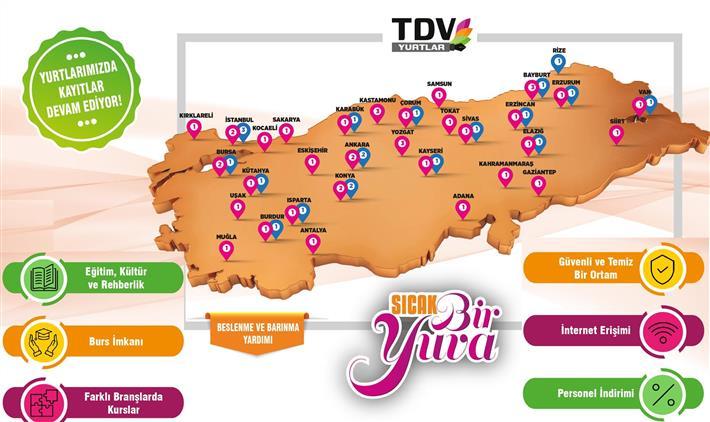 Niğde'de Sıcak Bir Yuva: Türkiye Diyanet Vakfı Yurtları