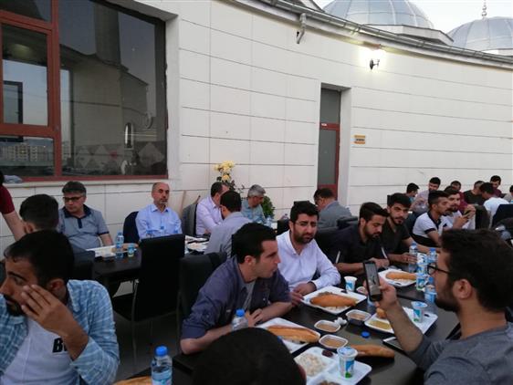 Siirt Müftülüğünden 450 üniversite öğrencisine Iftar