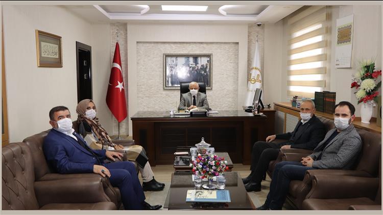 Sivas Eğitime Destek Platformu üyelerinden Müftü Akkuş' A Ziyaret