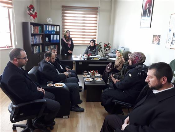 Erzurum'da Sosyal Hizmetleri Değerlendirme Toplantısı Yapıldı