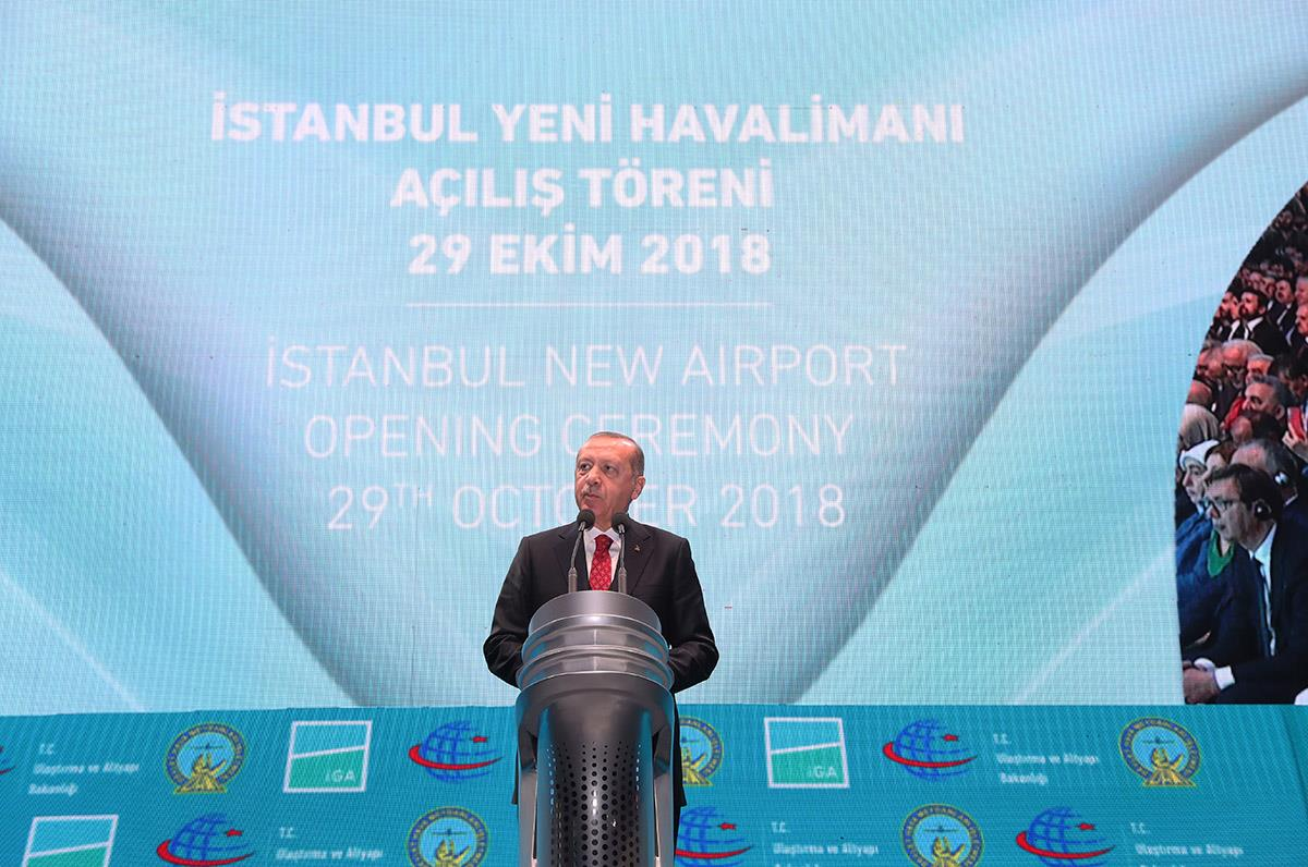 Istanbul Havalimanı Dualarla Açıldı