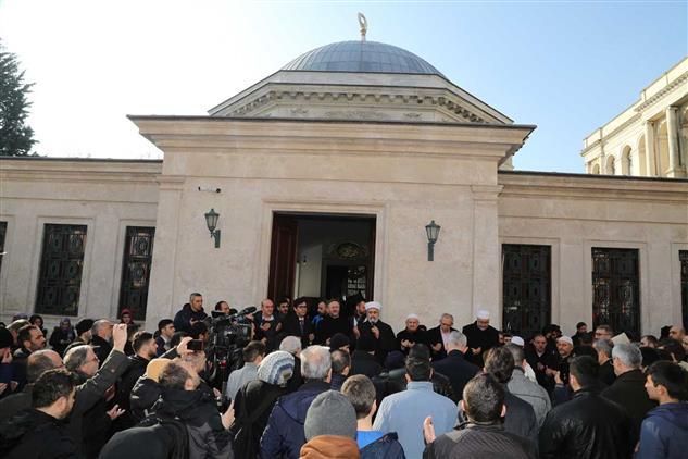 İstanbul'da Sultan 2. Abdülhamid, Vefatının 101. Yıl Dönümünde Kabri Başında Anıldı