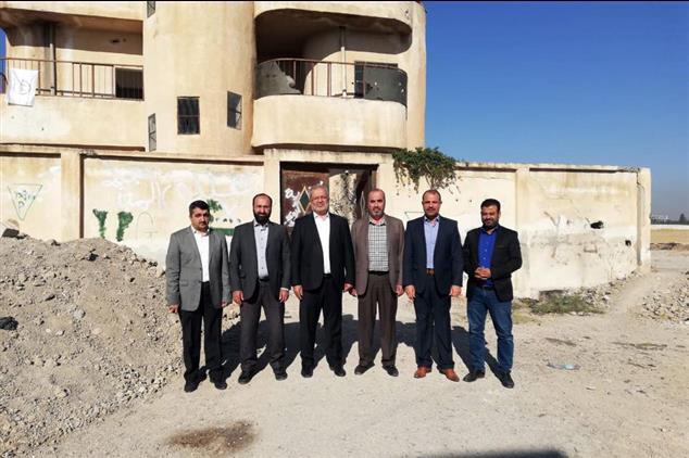 Şanlıurfa'da Suriye' De Terörden Arındırılan Bölgeye Heyet Ziyareti