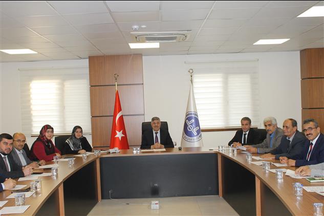 Hatay'da Sivil Toplum Kuruluşları Ile Mevlid-i Nebi Istişare Toplantısı Ilimiz Müftülüğünde Yapıldı